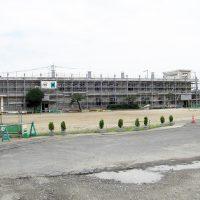 平磯小学校-耐震補強工事