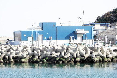 磯崎漁港高度衛生管理型荷捌施設新築工事
