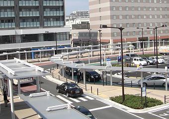 勝田駅東口再開発シェルター設置工事