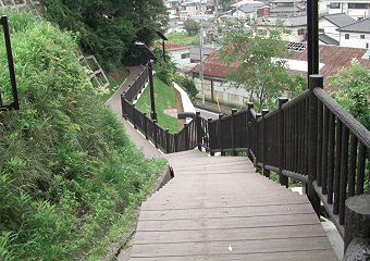 湊公園津波避難路整備工事