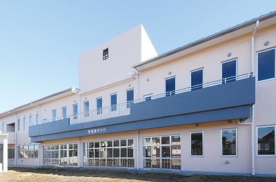那珂湊中学校建設建築工事